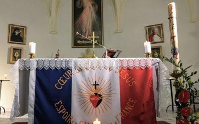 INFOS PAROISSE – MESSE AU SACRÉ-COEUR DE JÉSUS POUR LA FRANCE – VENDREDI 3 JUILLET À 19H AU SANCTUAIRE DE LA MISÉRICORDE